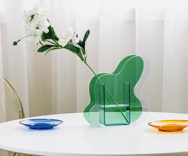 yeşil vazo ürünleri
